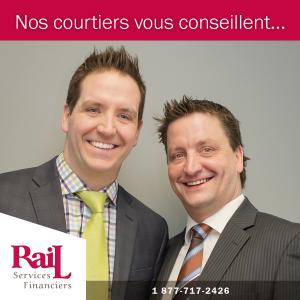 Nos courtiers vous conseillent... de réviser vos contrats d'assurances régulièrement.