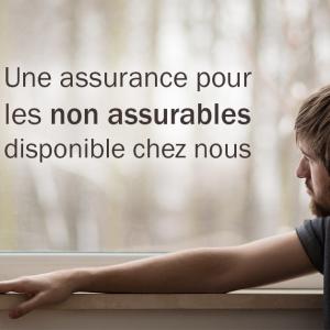 """Assurance pour les """"non assurables"""" disponible chez Rail Services Financiers"""